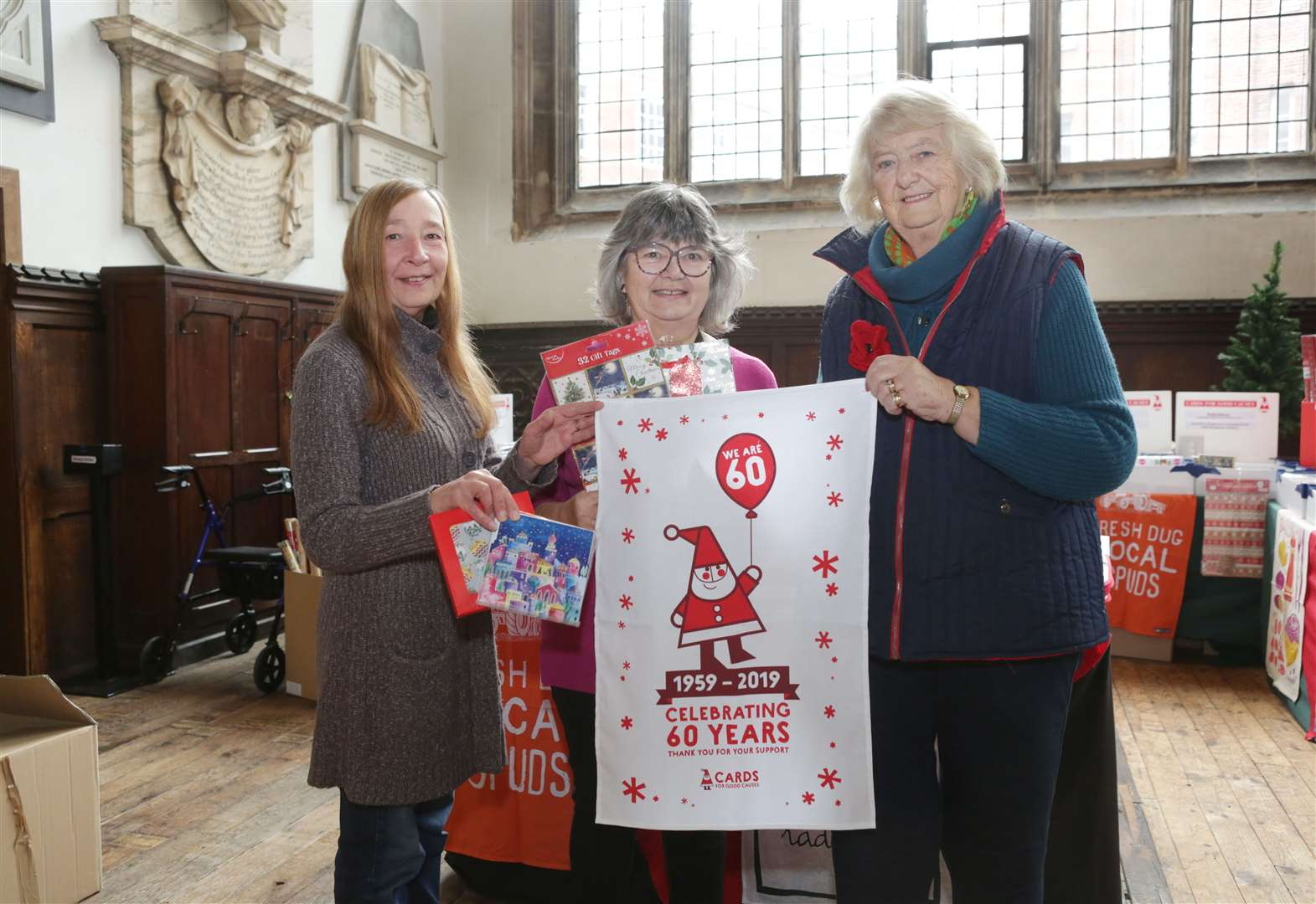Christmas card pop-up shop opens in parish church