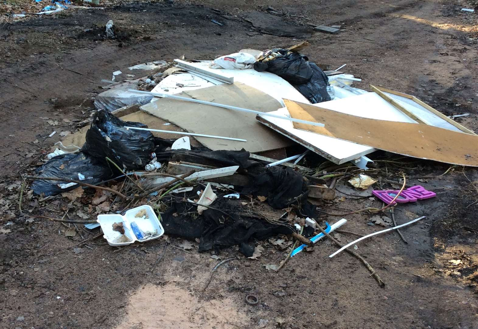 Warning issued over fly-tipping
