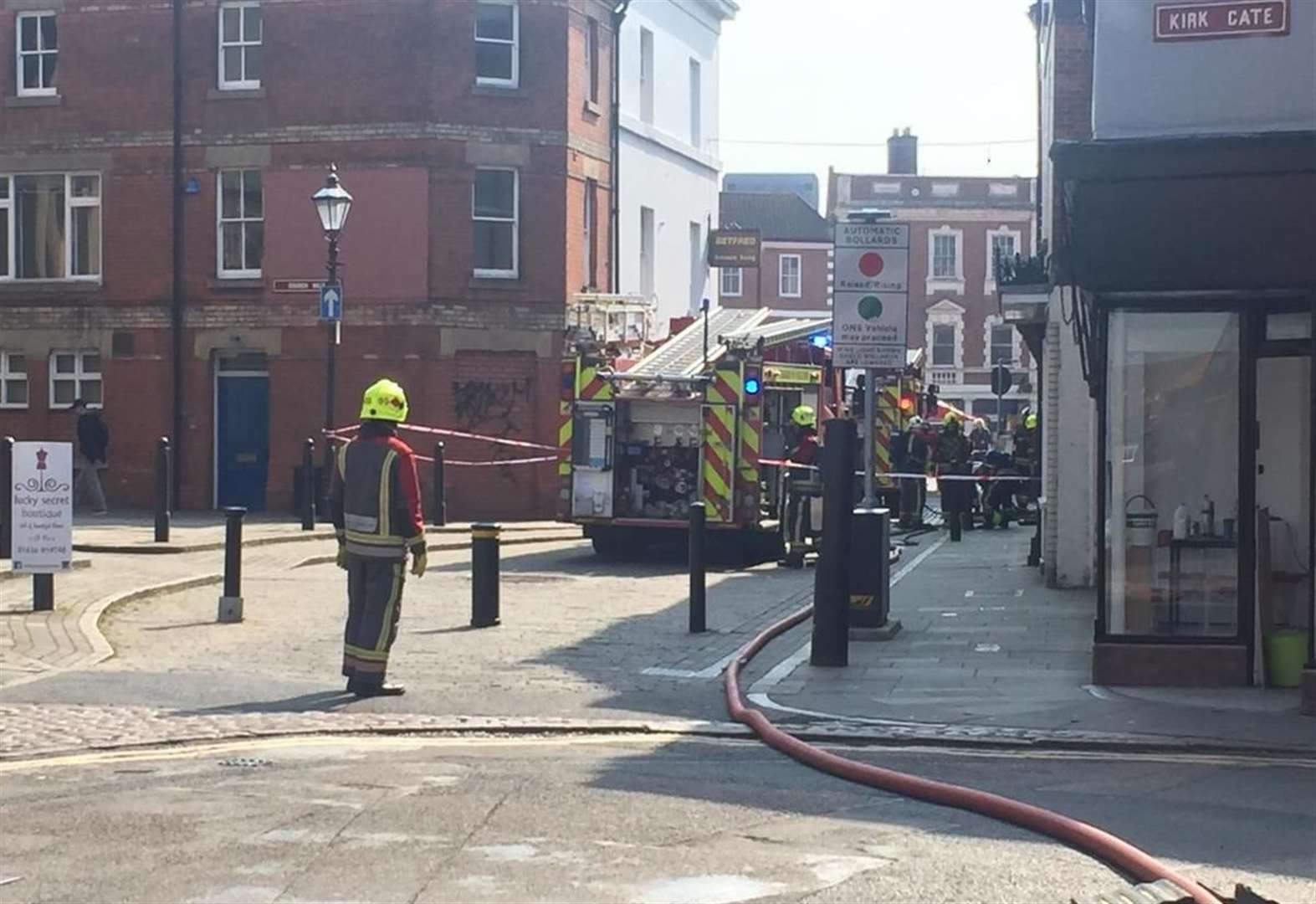 Fire at Wetherspoons pub in Newark