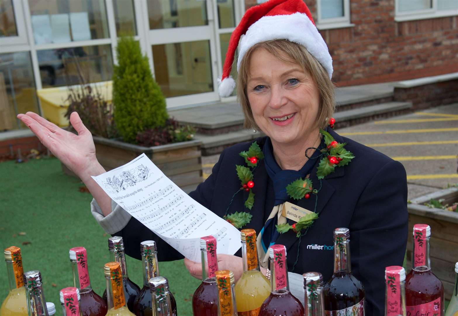 A Bottesford business is spreading festive cheer for a good cause.