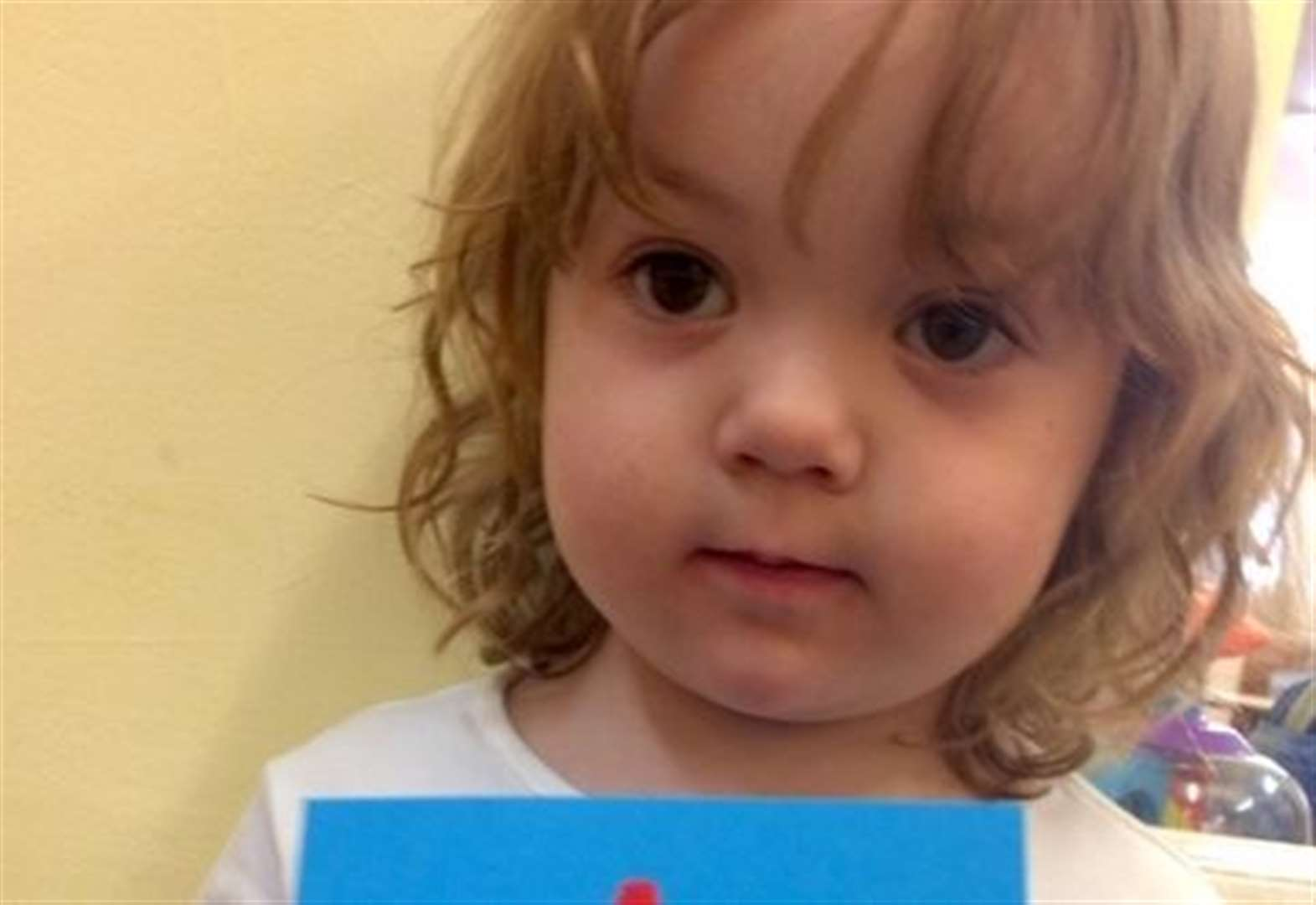 Two-year-old's Christmas card selected as finalist in national competition