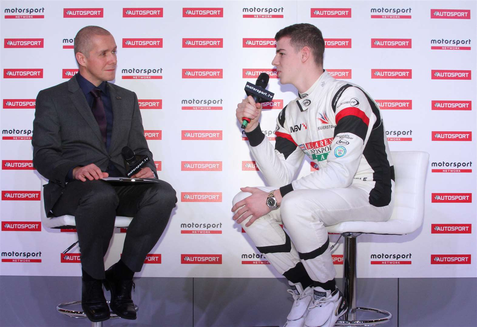 Gamble reflects on racing award