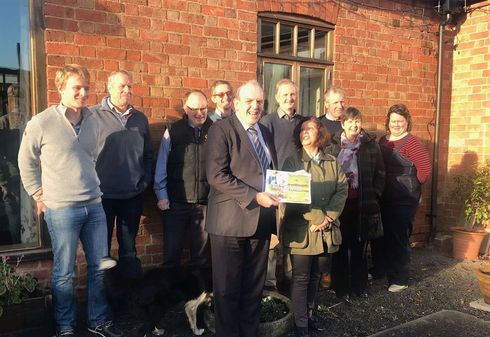 Farming union presents Newark General Election candidates with manifesto focussing on climate