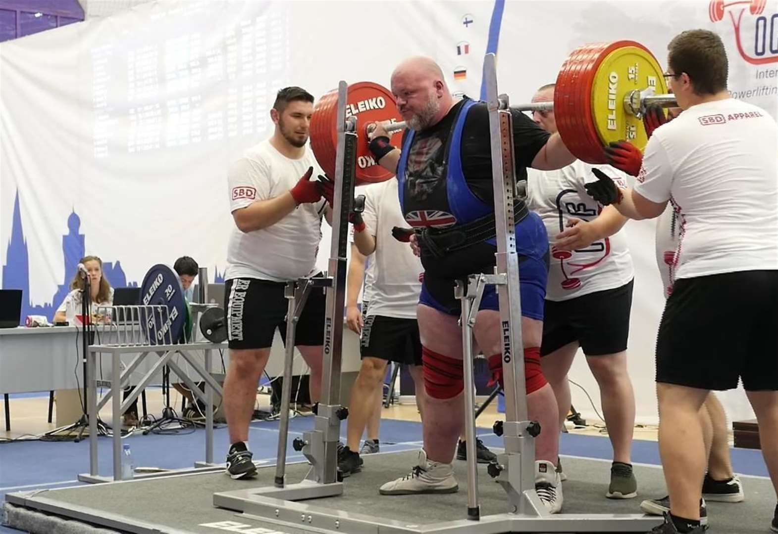 European masters bronze for Newark powerlifter