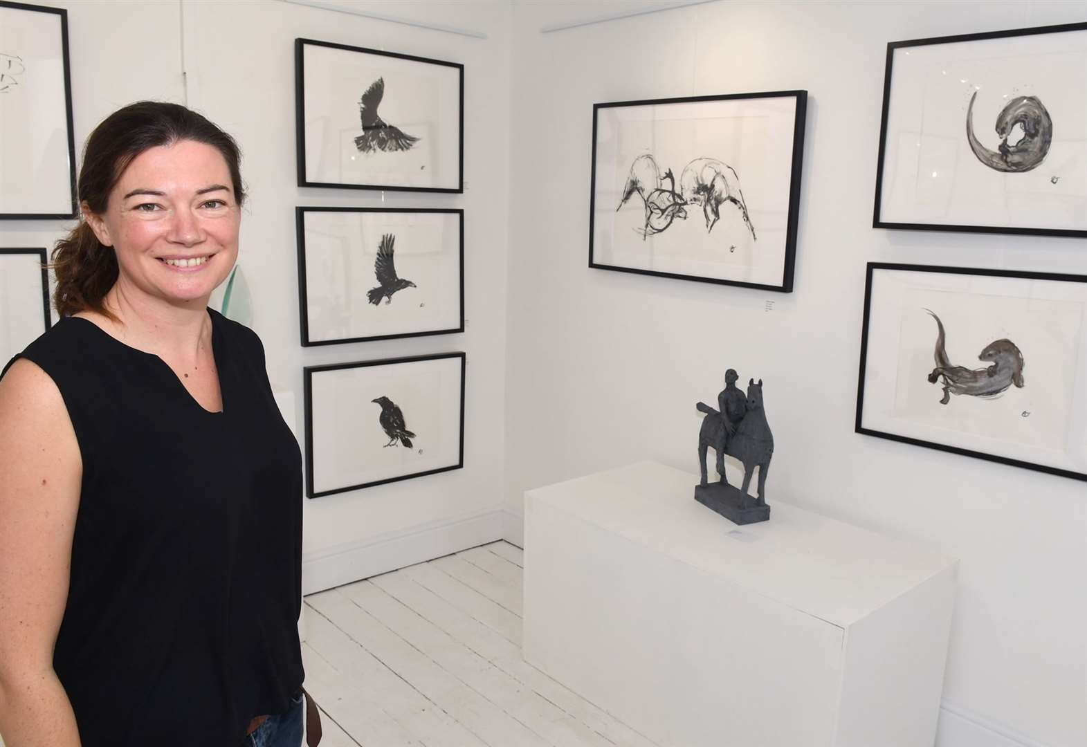 Artist's exhibition is a walk on the wild side