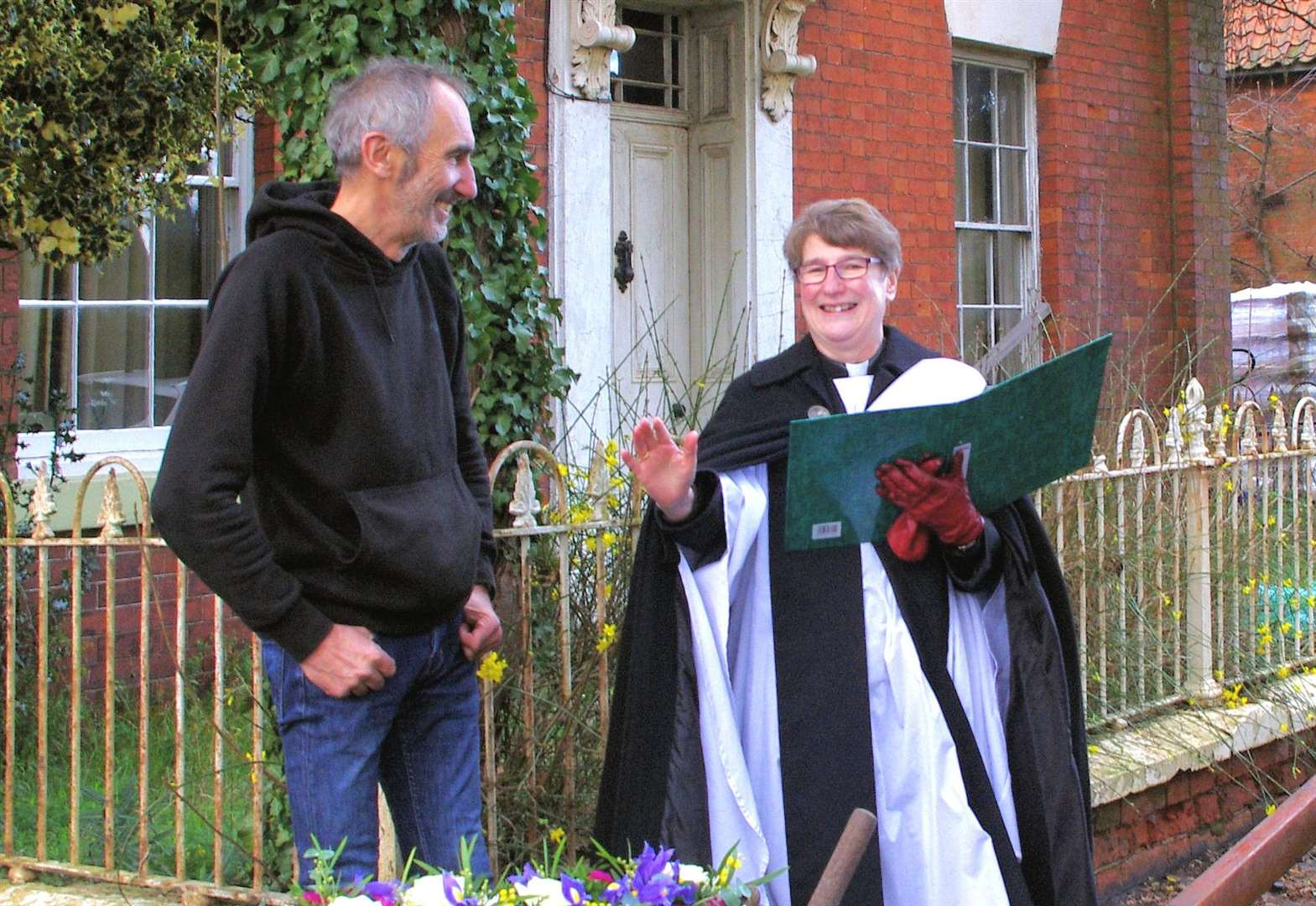 Resident organises church service to bless plough
