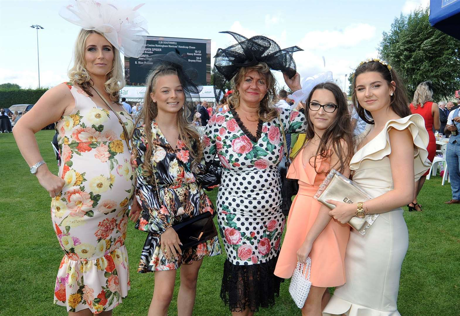 Families all looking fabulous at the races