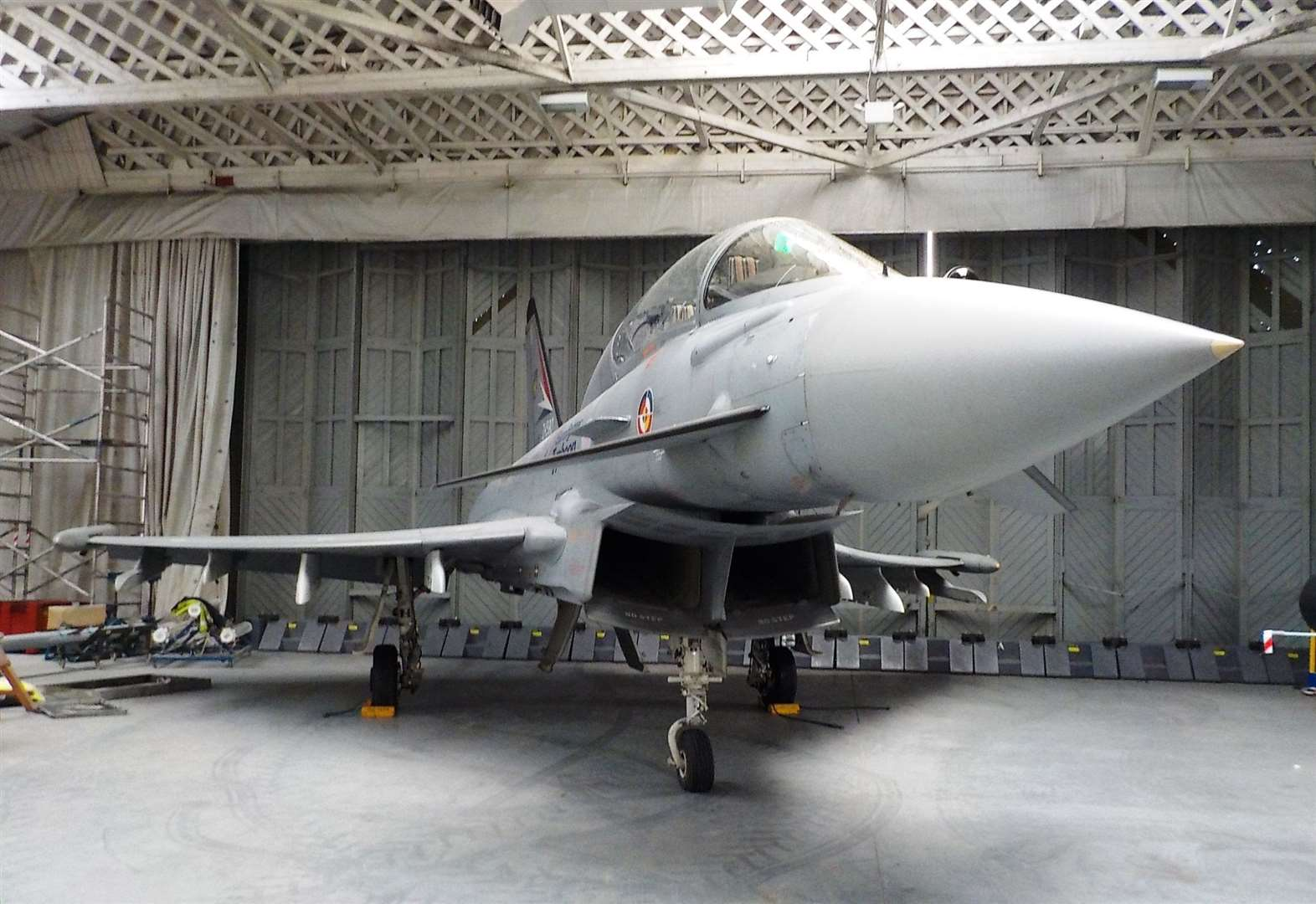 Eurofighter set to land at museum