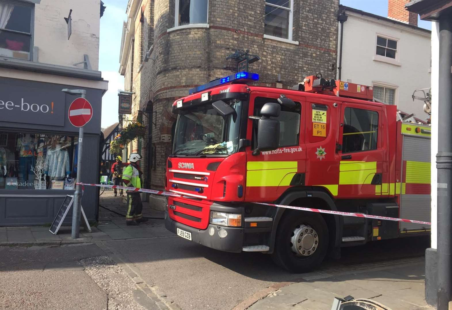 Fire at Wetherspoons was in the basement