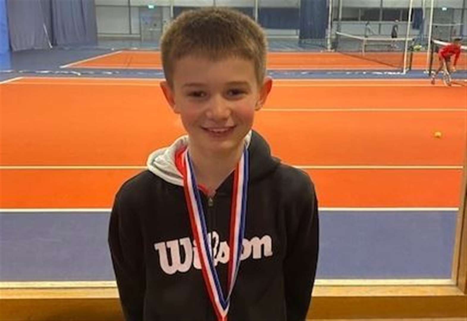 Impressive run for young tennis star