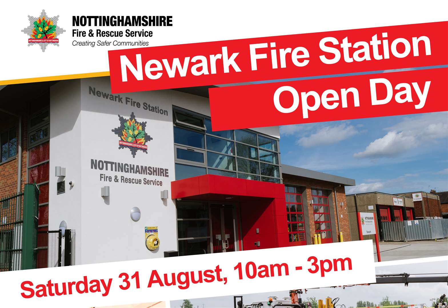 Newark Fire Station open day being held this weekend