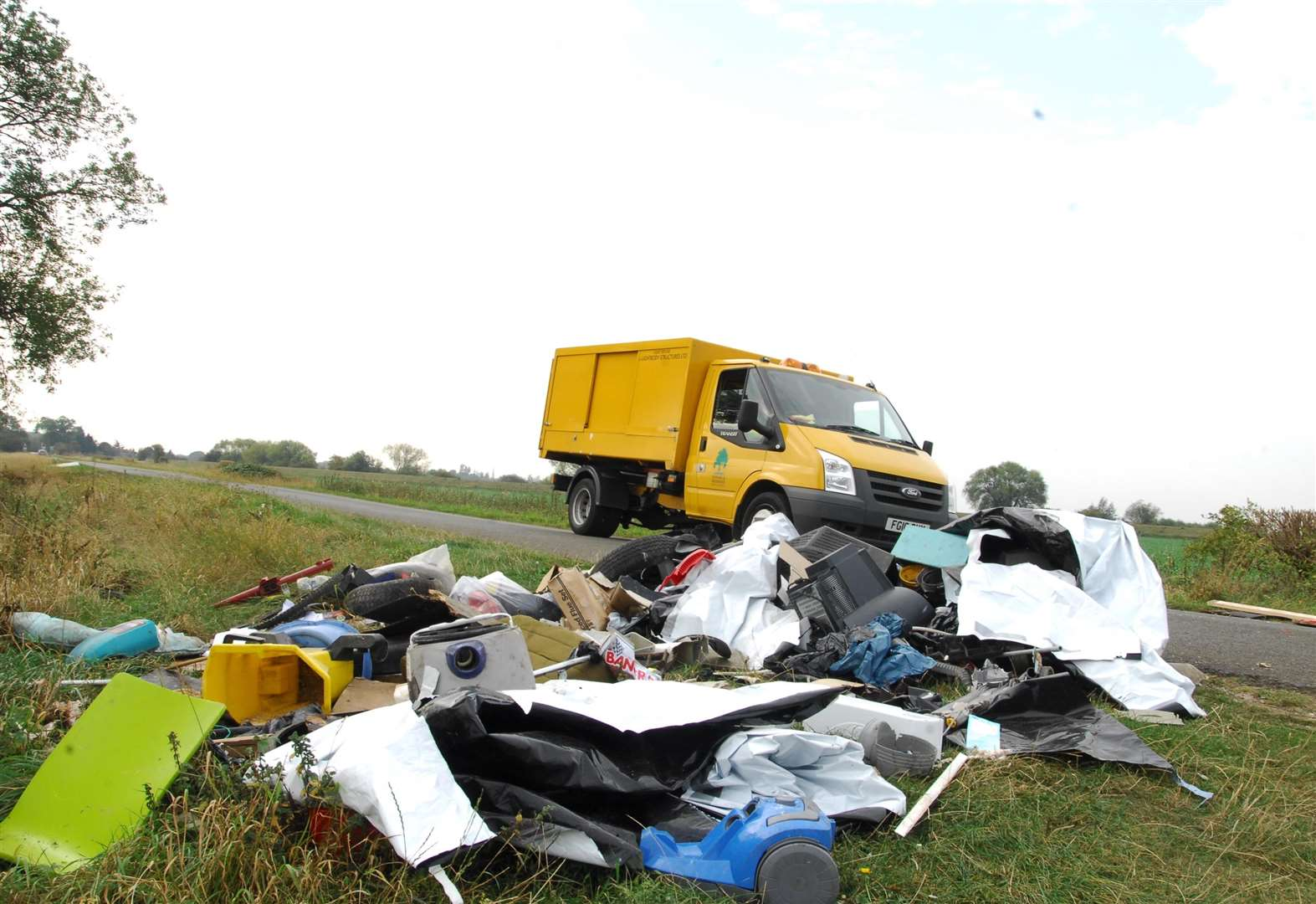 Newark and Sherwood fly-tipping figures released