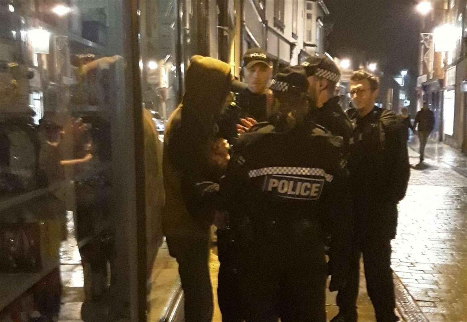 Three residents found to be in possession of drugs after strong police presence in Newark town centre