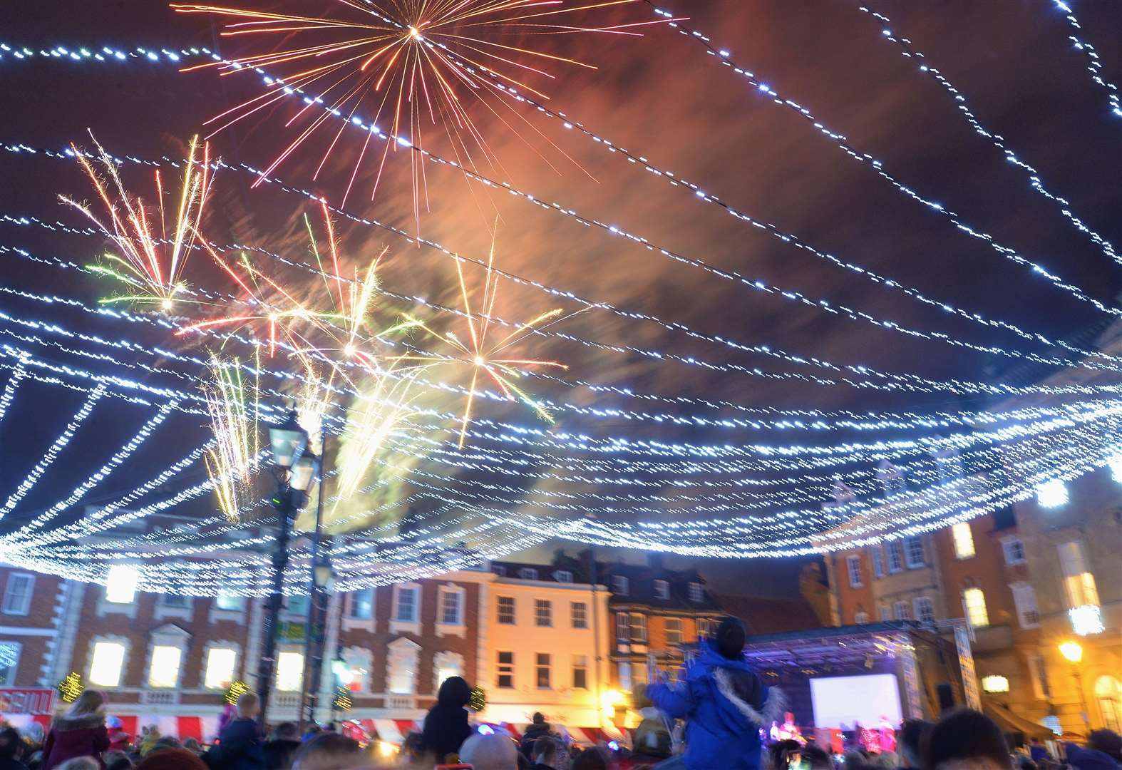 It's official ­— Christmas is here! See our gallery of pictures from yesterday's Newark lights switch-on
