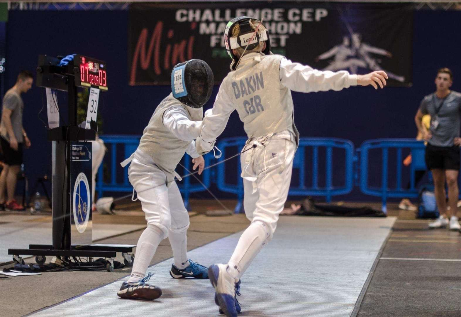 Fencer competes among the best in Paris