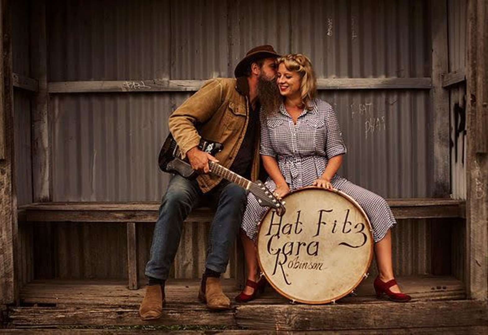Southwell date for music duo Hat Fitz and Cara.