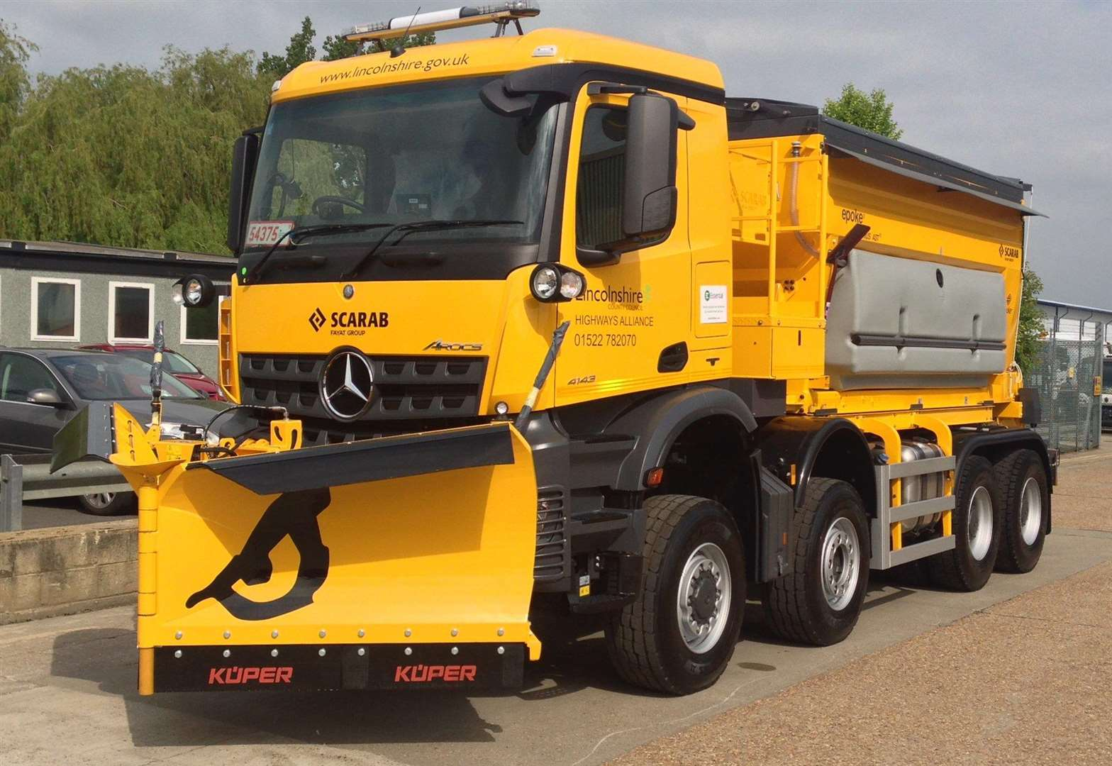 Fun names picked for council's gritting fleet