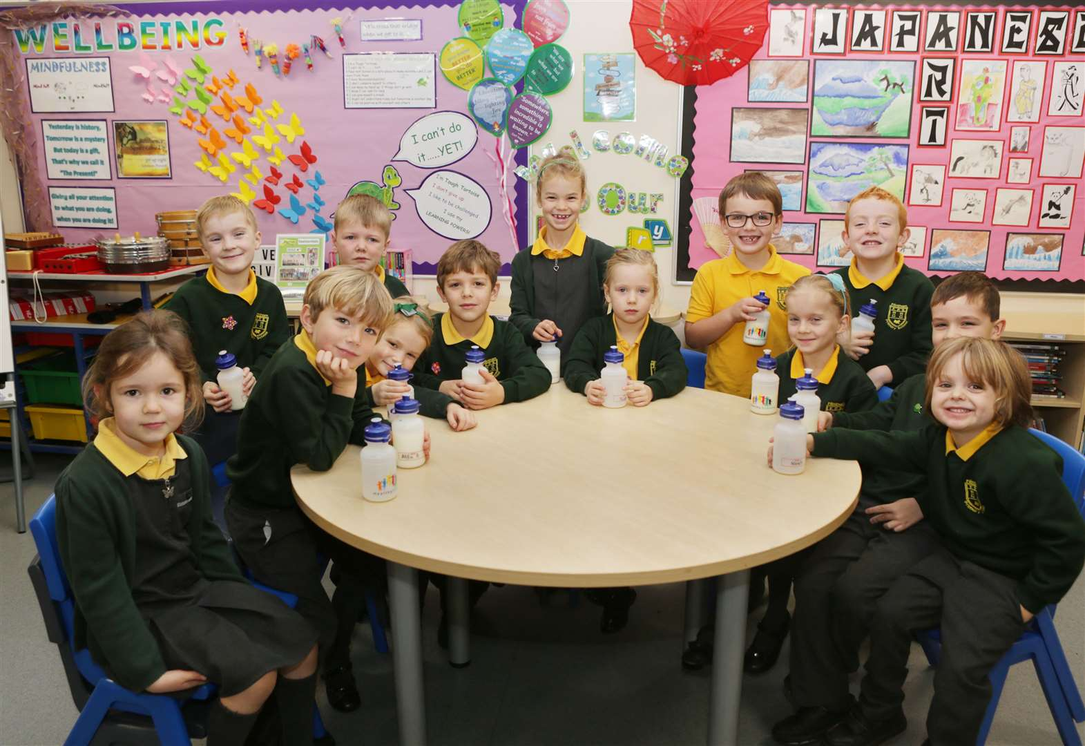 Pupils' milk time goes plastic-free