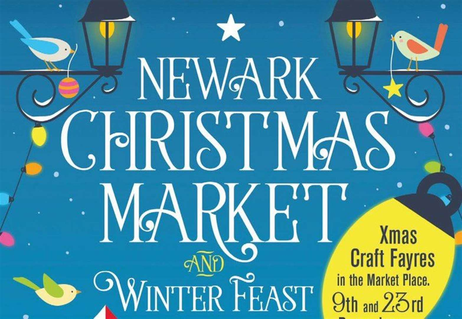 Lots to feast on at wintry Christmas market this weekend