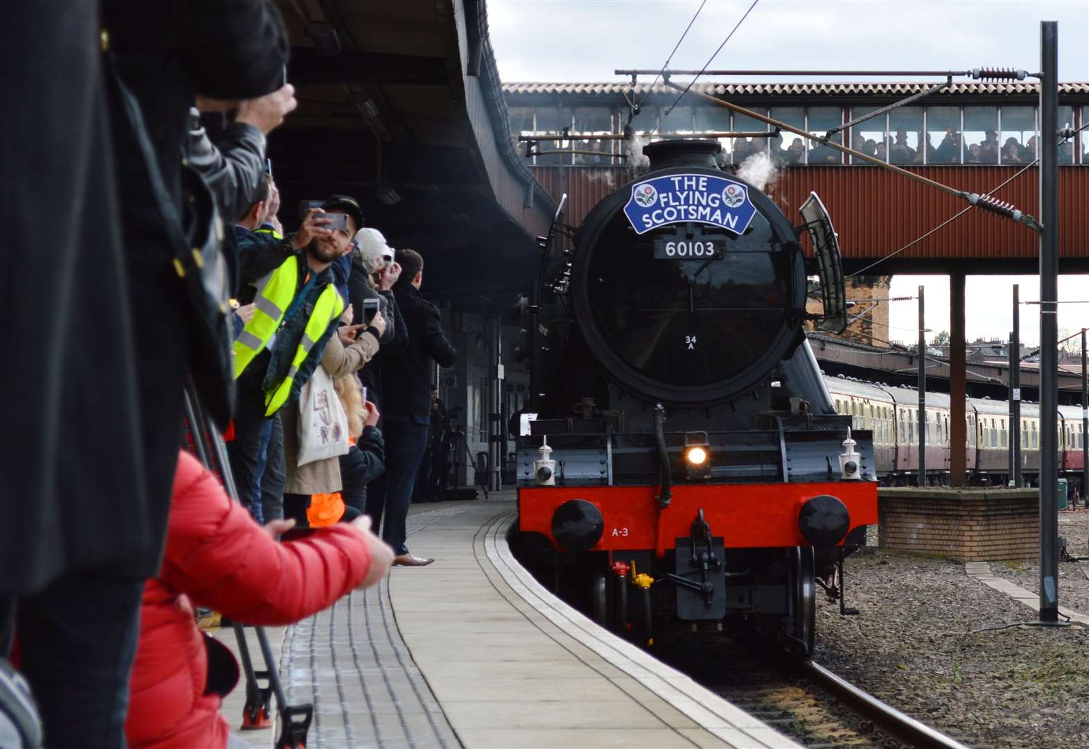 Flying Scotsman coming on Saturday