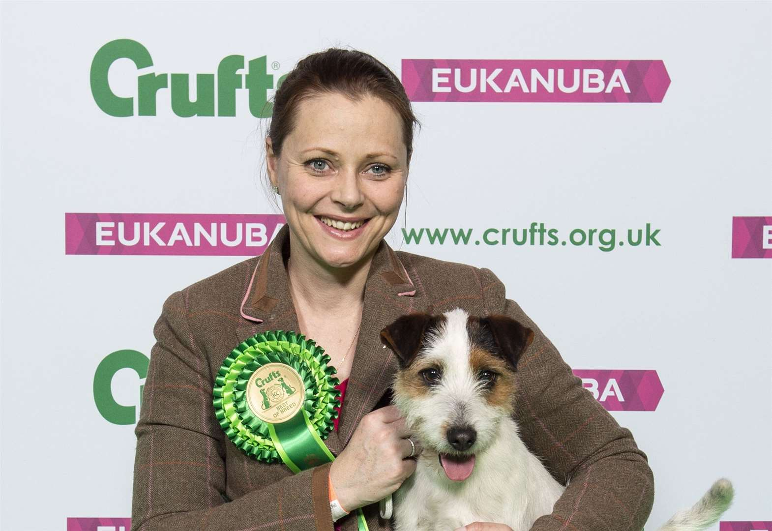 Crufts honour for Sarah and Stanley
