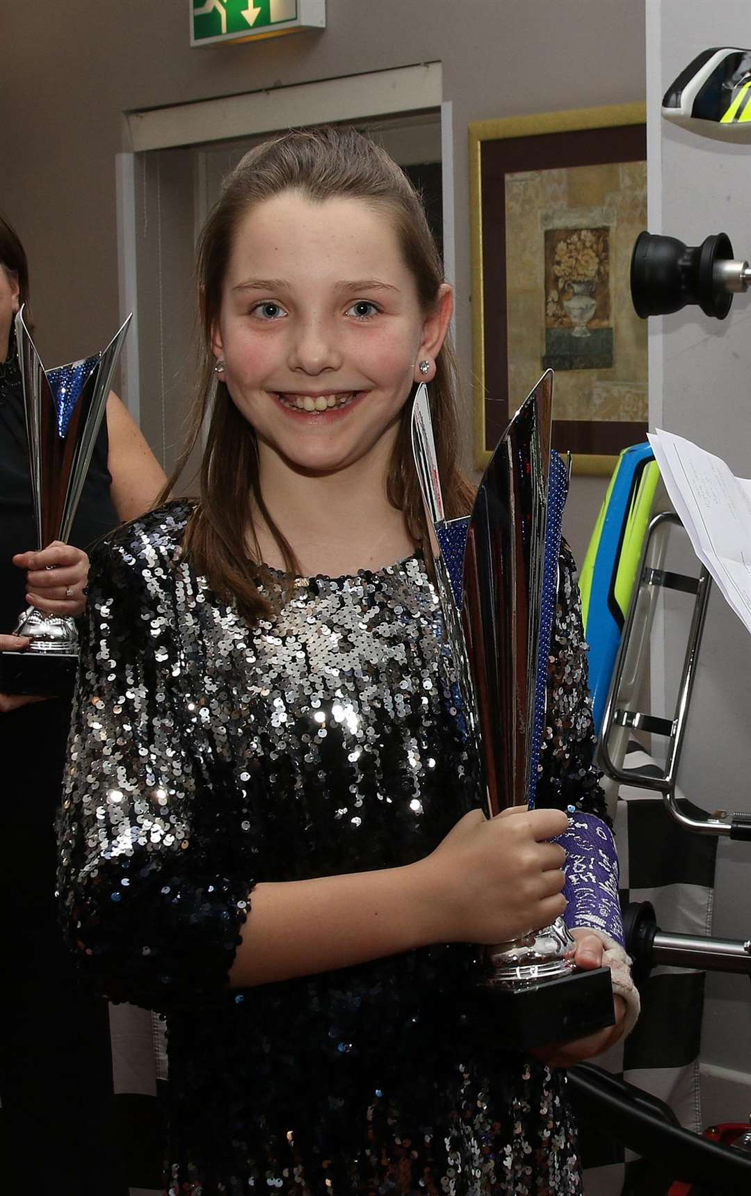 Andrina - Most Improved Cadet at karting club (7269654)