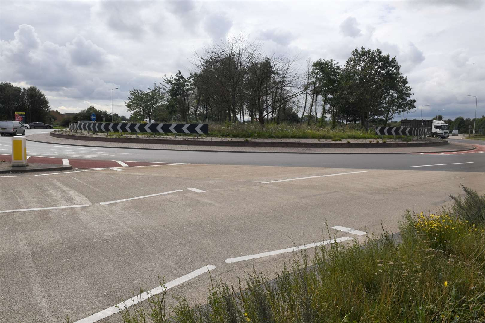 Kelham roundabout, 18th most dangerous roundabout in the county 280819DD3-6. (15855946)