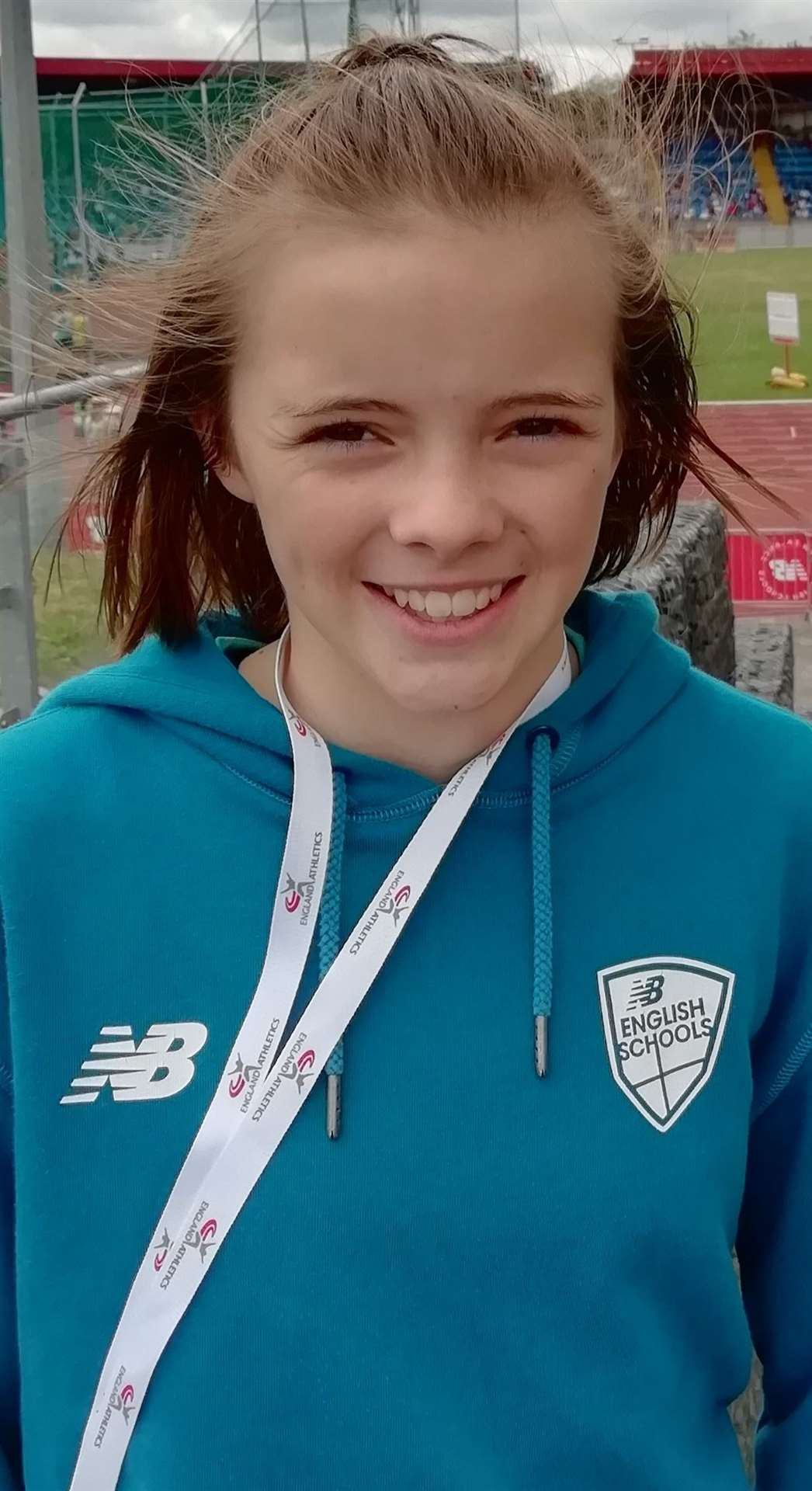 Amelia Chrispin, of Newark AC, finishes fifth in the UK (16066378)