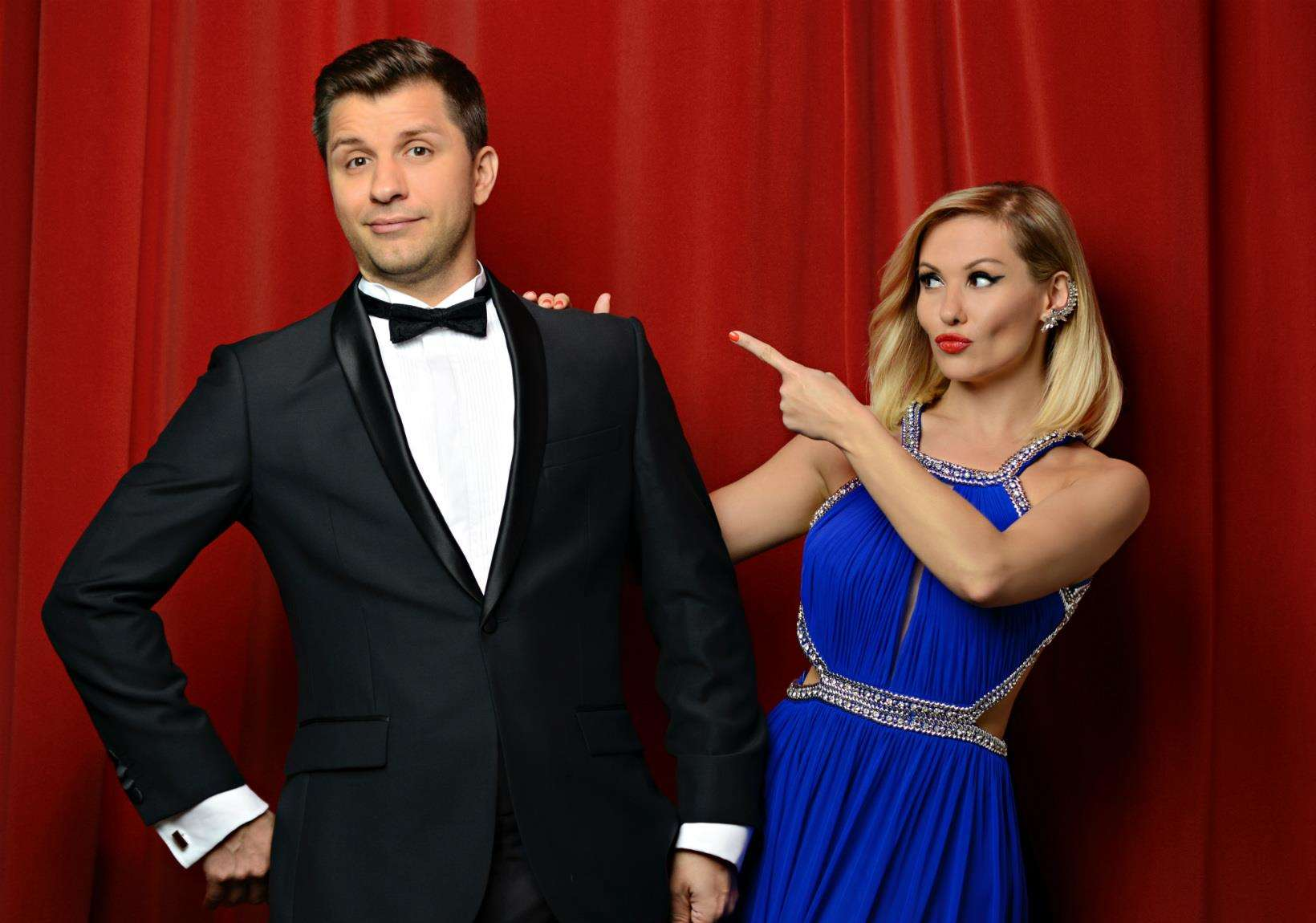 Pasha Kovalev and his partner, Anya Garnis, are bringing their new show, The Magic Of Hollywood, to the Palace Theatre, Newark