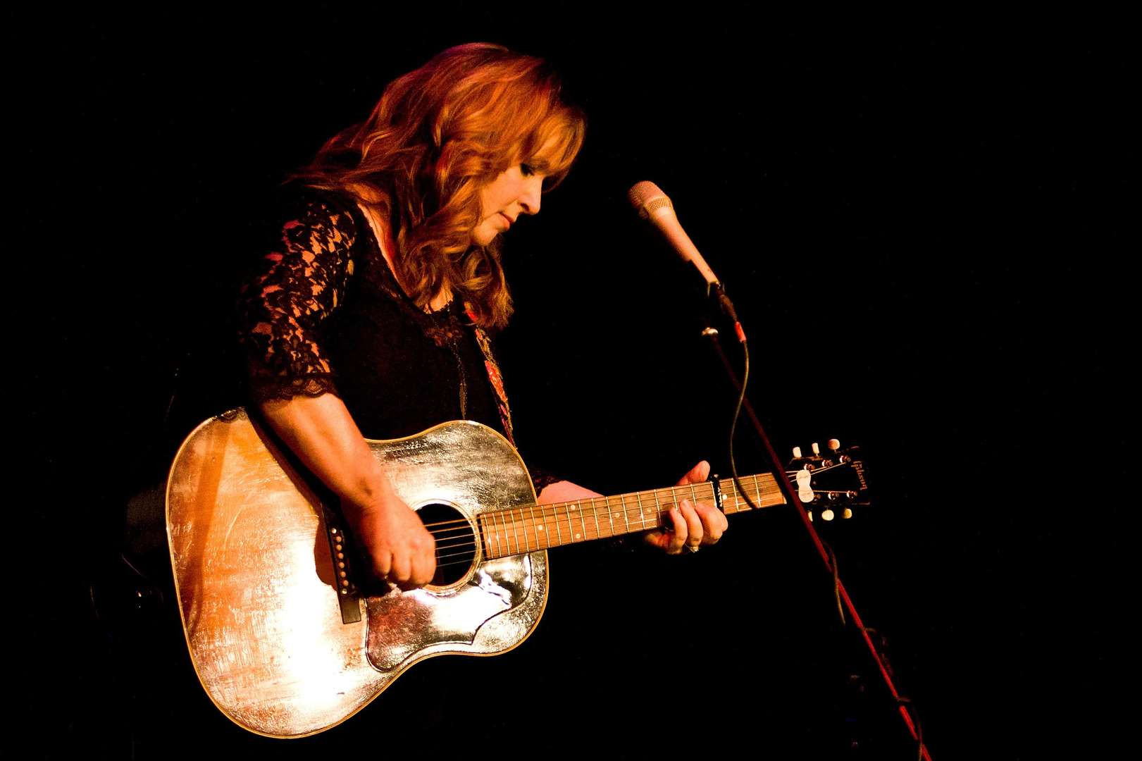 Nashville singer Gretchen Peters will be performing.