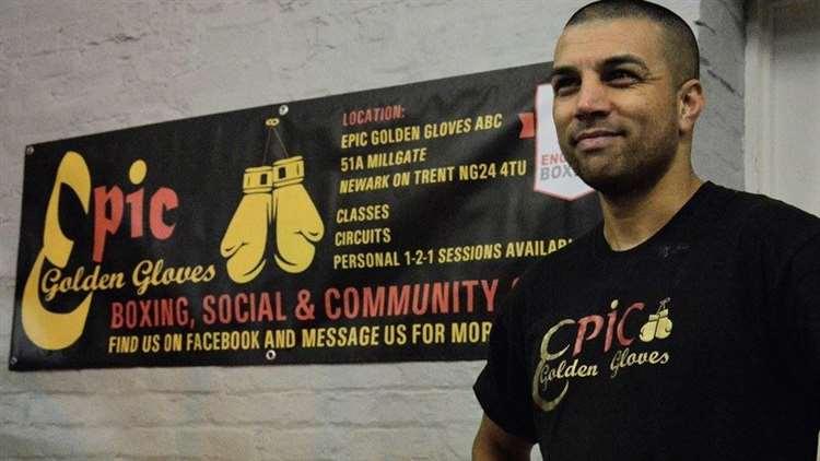 ESHAM PICKERING, the owner of Epic Golden Gloves.