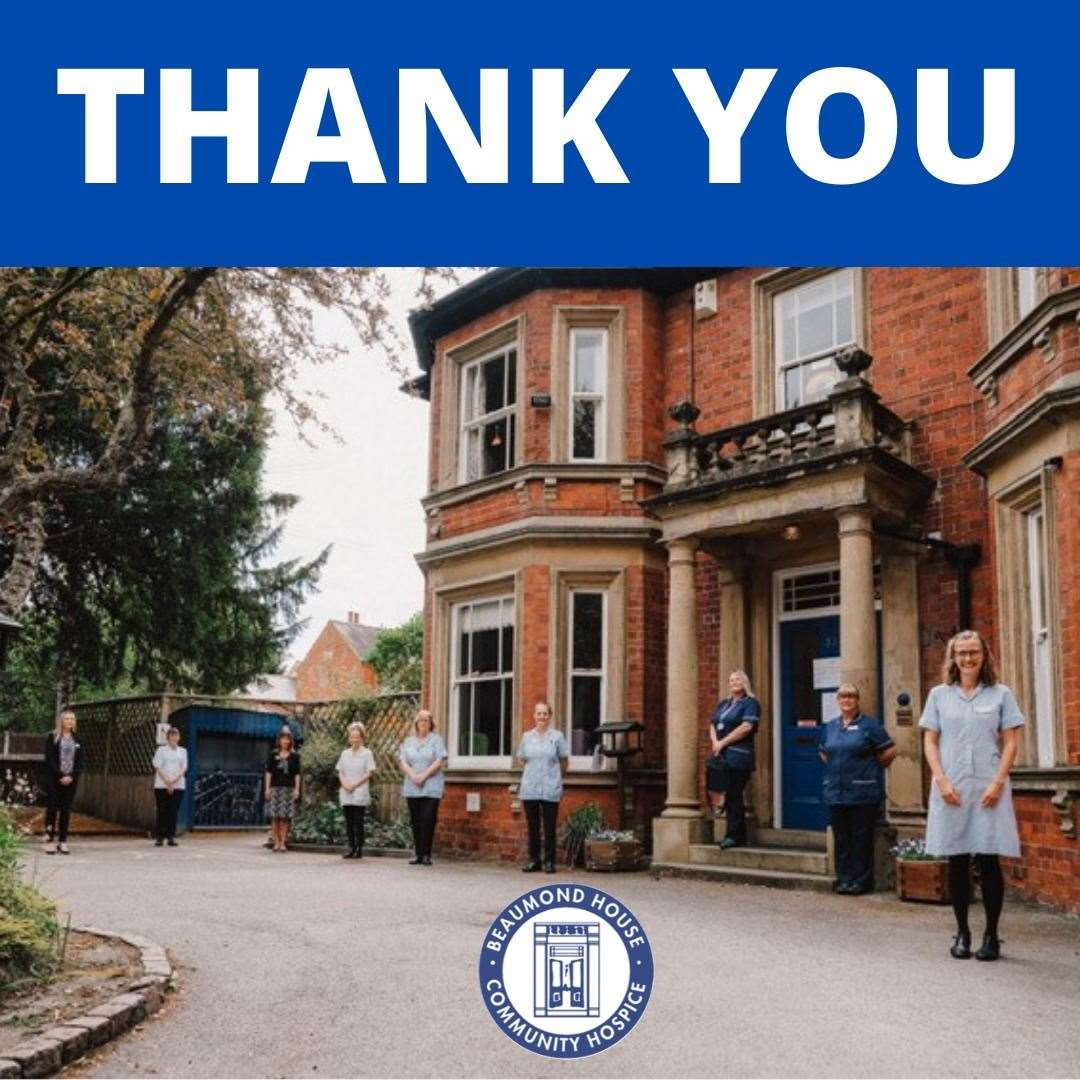 Staff at Beaumond House say thank you. (36678233)