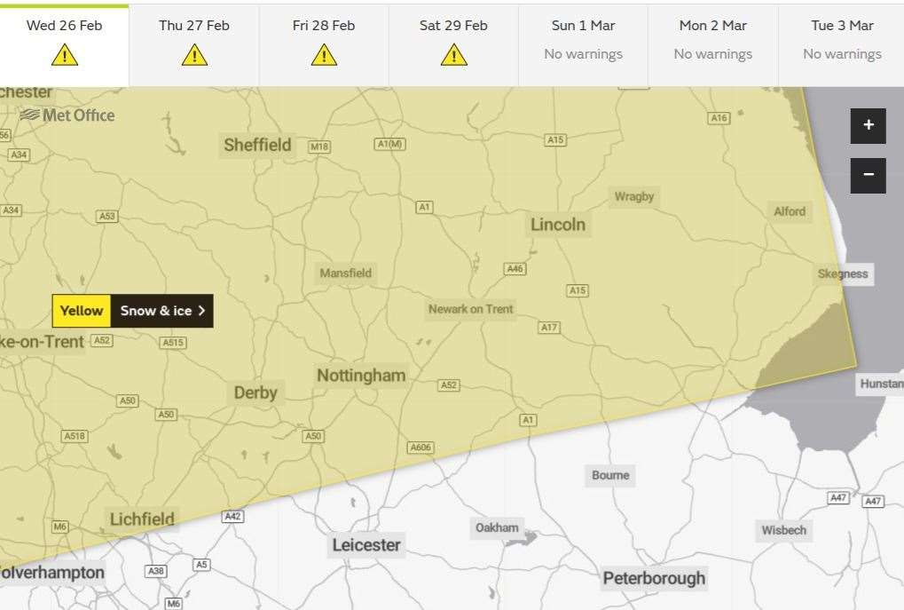New Forest weather warning for rish hour ice