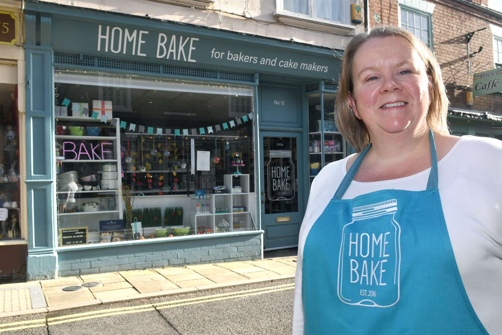 Home Bake, Southwell, finalist in Britain's Best Small Shop 2019.