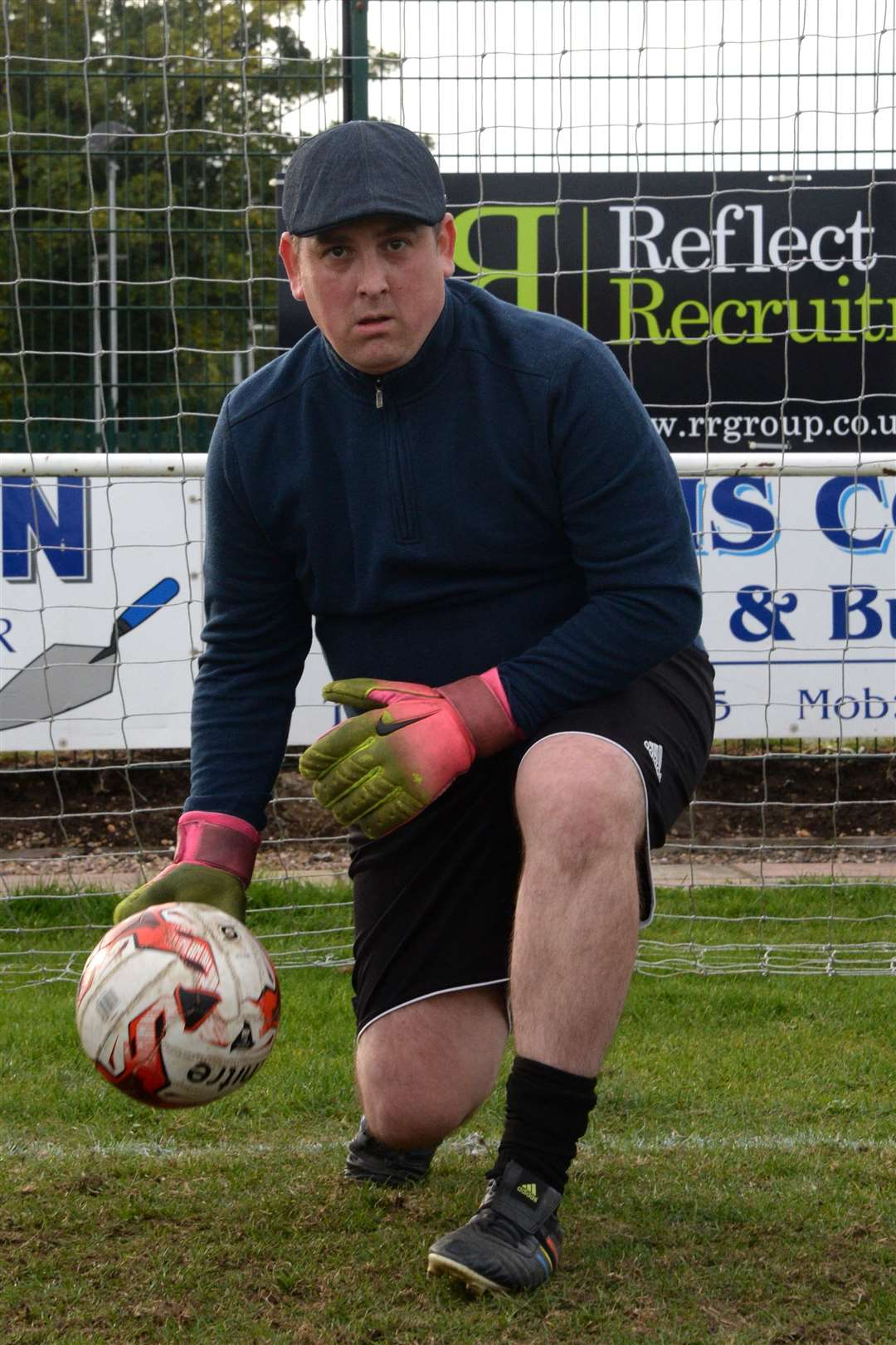 Newark Town keeper Ricky Hunter, who is the first current team assistant manager. (4688196)