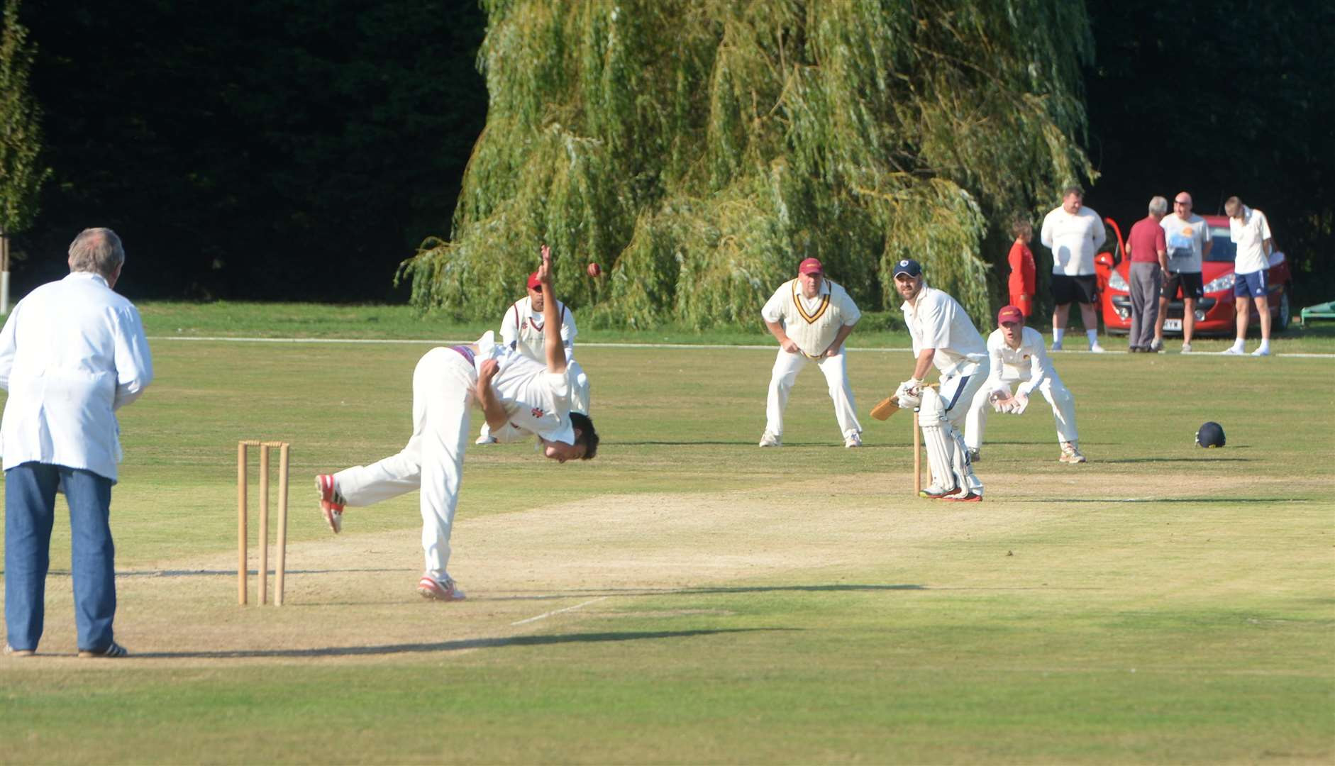 Action from Newark R&M 1sts versus Hickling in the South Notts League (4039203)