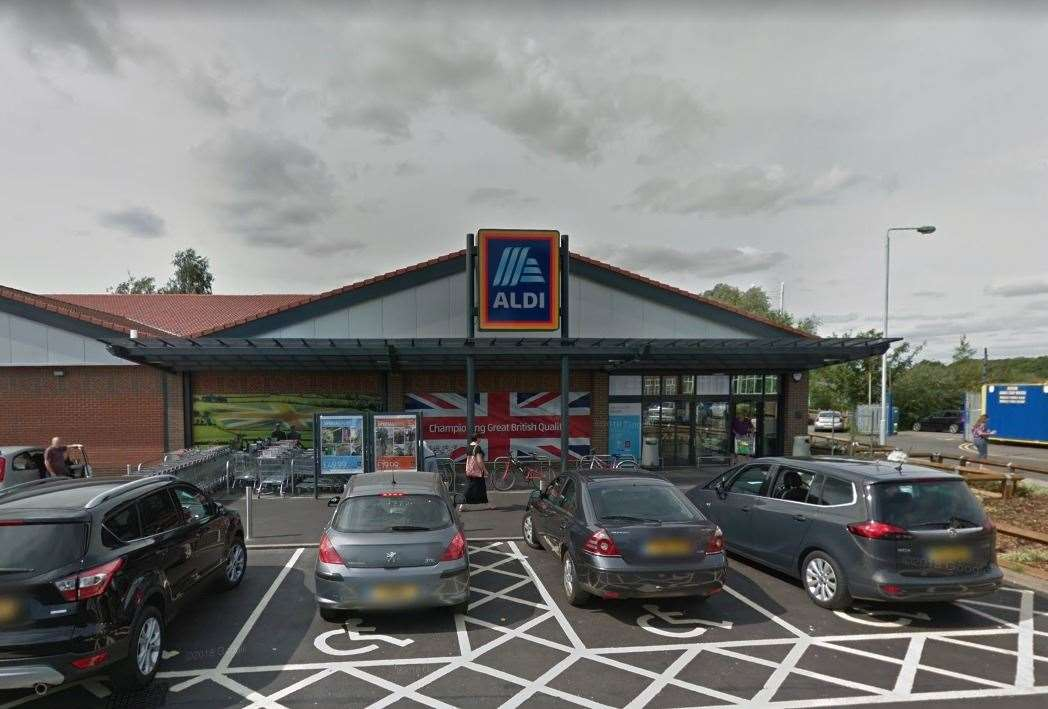 Aldi, Northgate, Newark. Picture Credit: Google Maps(18372108)