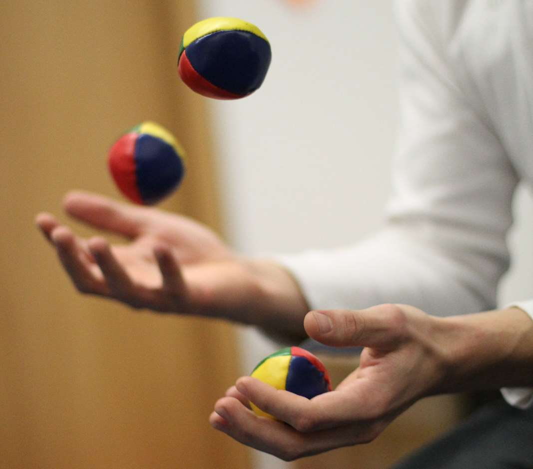 Newark will host the world's largest juggling convention, in 2019. PhotographL Konstantin Haase on Flickr
