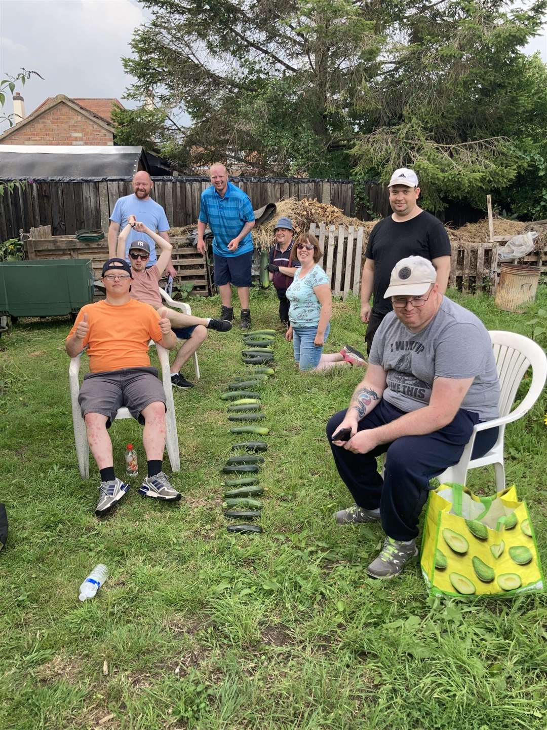 Reach out to customers with learning disabilities who have green thumbs in the garden.  (51030900)