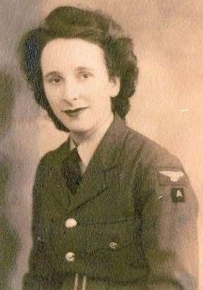 Margaret Wilson during her military service. (20809459)