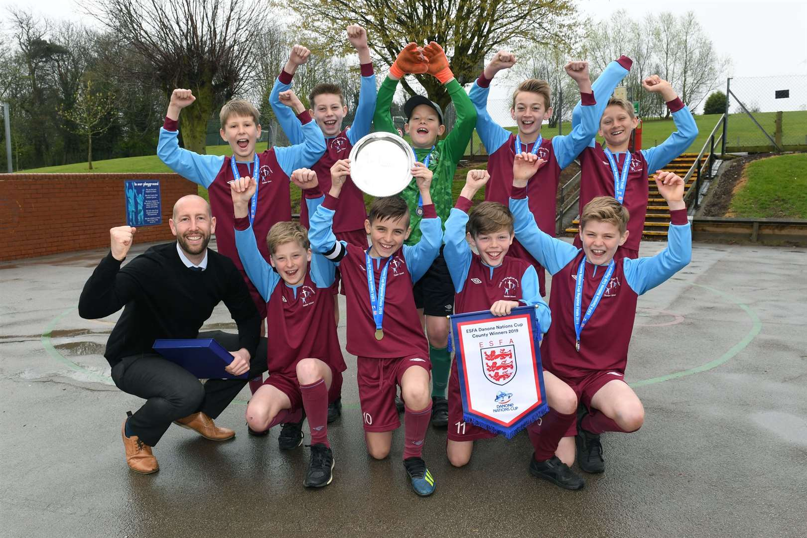Ace Fa lowe's wong junior school ace football tests at midlands