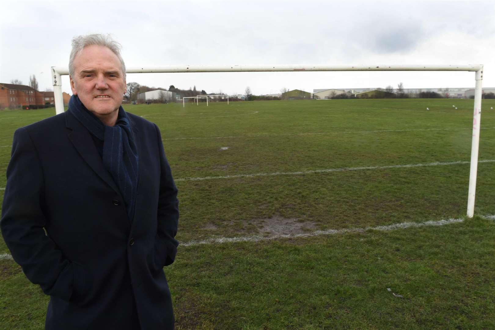 Secretary of Newark Sports Association,Paul Baggaley pictured at Lincoln Road playing fields, Newark.. (6923073)