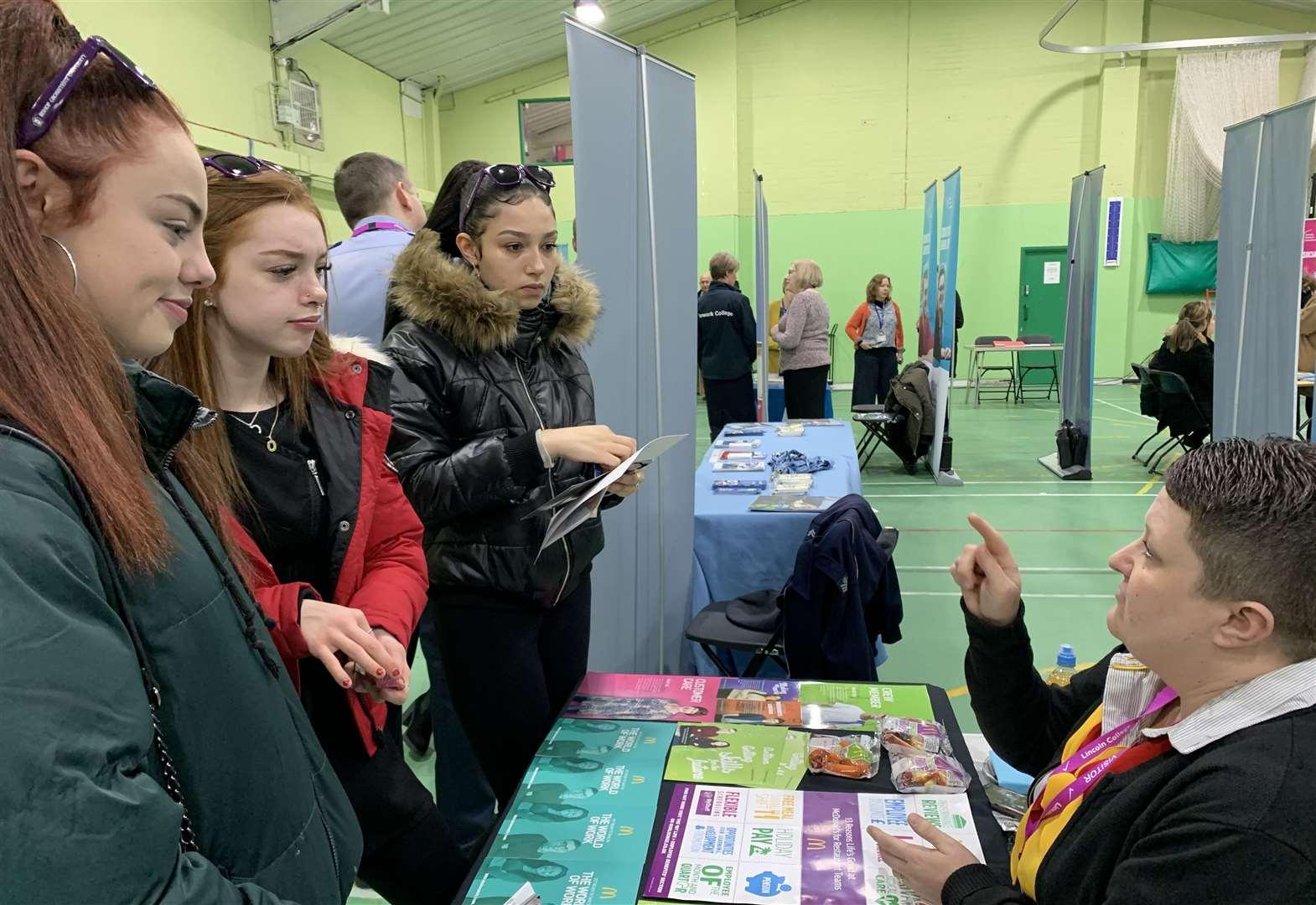 Newark College hosts Careers Fair during National Careers Week