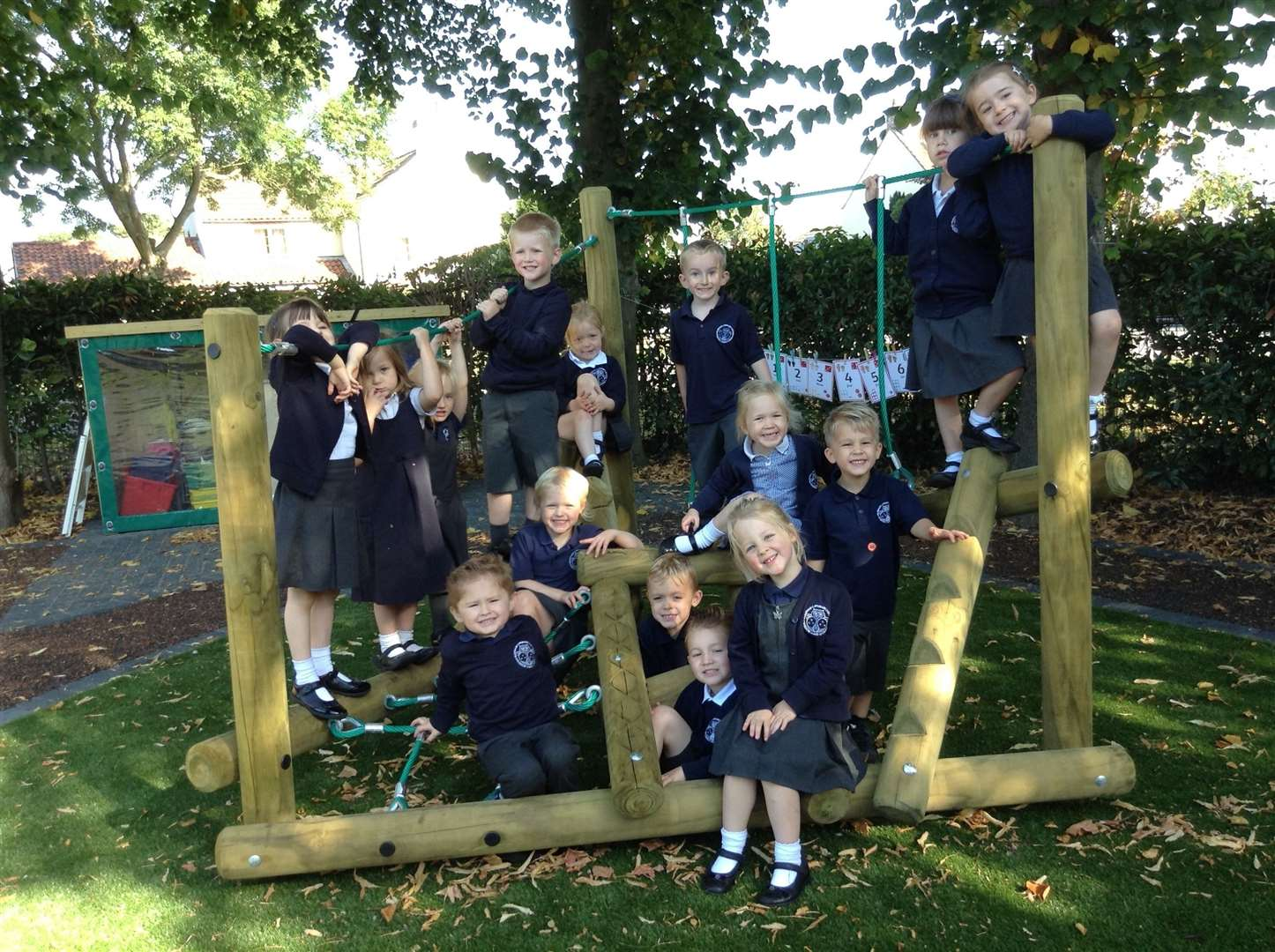 Muskham School's new outdoor classroom. (18101183)