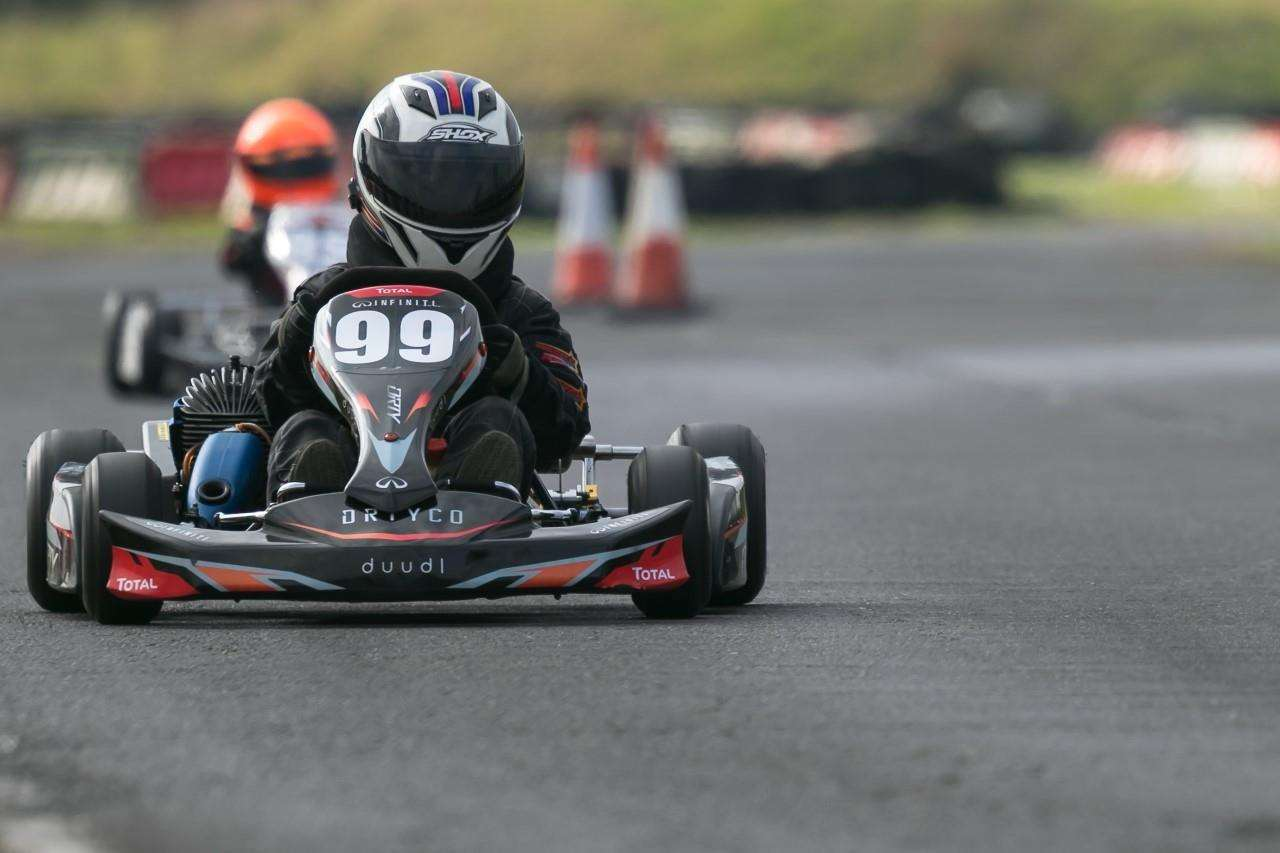 Karting ace Andrina in action (7269652)