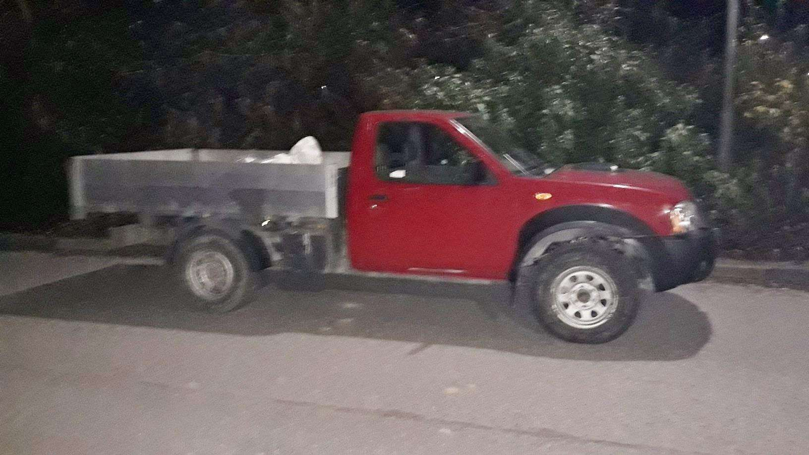 One of the vehicles seized by police. (6422798)