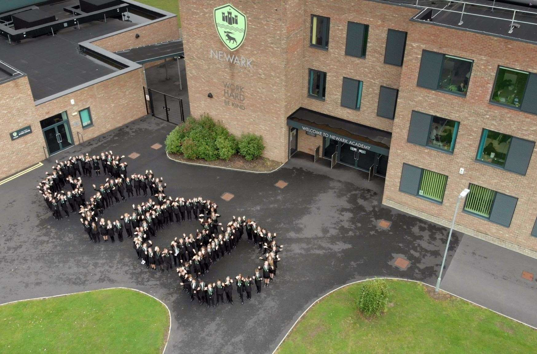 Newark Academy rated good by Ofsted. (18192636)