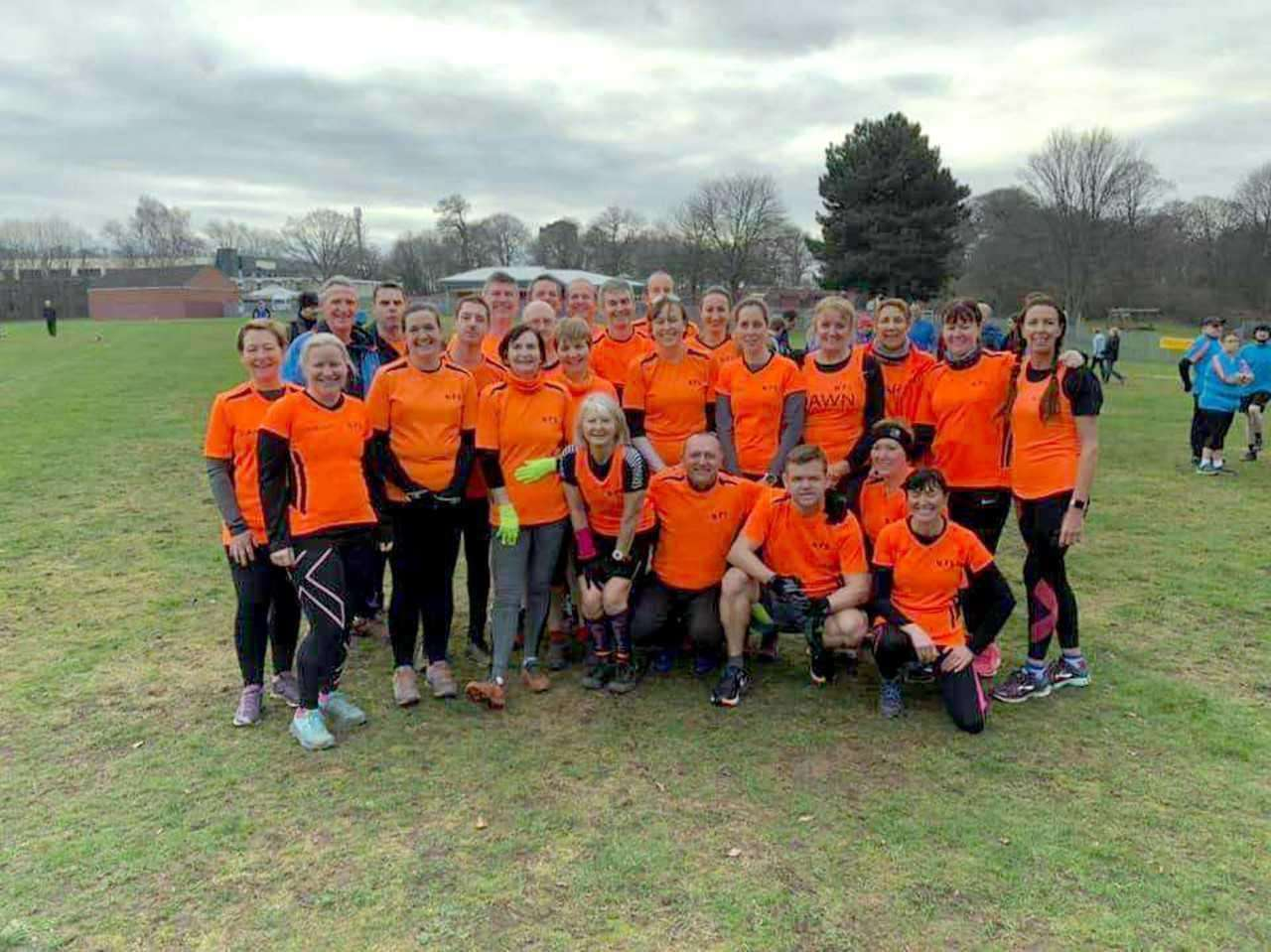 NEWARK STRIDERS at the East Midlands Cross Country, Bramcote Hills Park. (6418800)