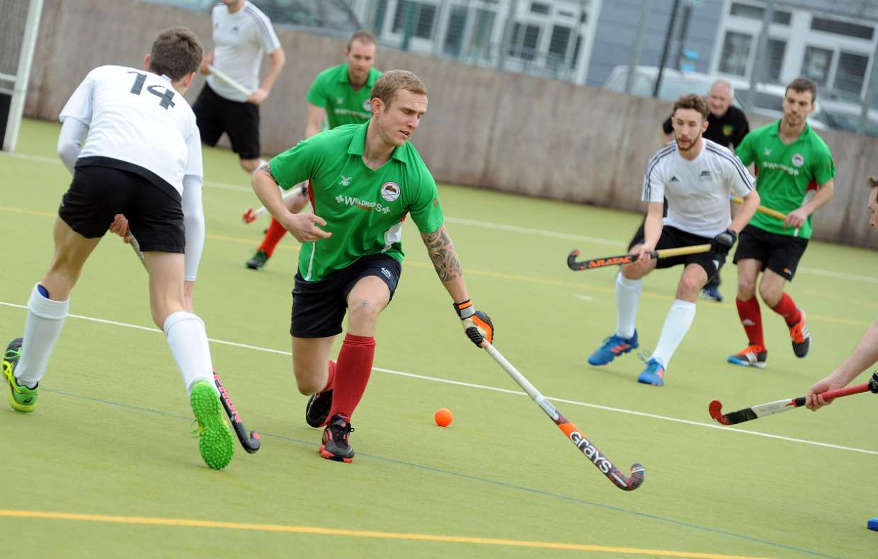 Action from Newark Mens 1sts versus Leicester Mens 1sts on Saturday. 100318AW1-6
