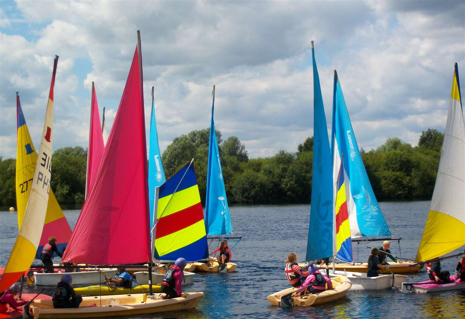 Pupils get onboard with sailing test